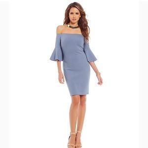 Gianni Bini Cold Shoulder Cocktail Dress